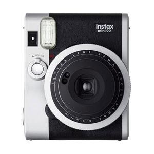 【あすつく】 フジフイルム インスタントカメラ instax mini 90 「チェキ」 ネオクラシック|emedama