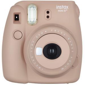 フジフイルム インスタントカメラ instax mini 8+ 「チェキ」 ココア emedama