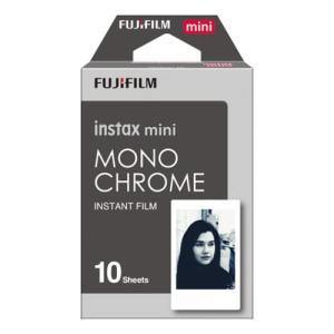 フジフイルム インスタントフィルム instax mini モノクローム 10枚入