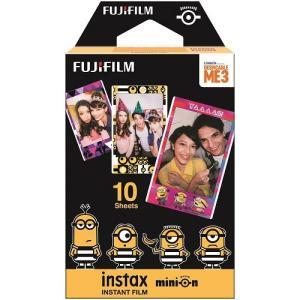 【あすつく】 フジフイルム インスタントカラーフイルム instax mini ミニオン・映画版 10枚入|emedama