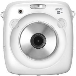 フジフイルム インスタントカメラ instax SQUARE SQ 10 「チェキ」ホワイト|emedama