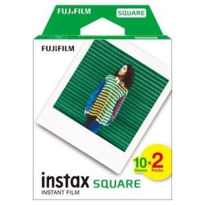 フジフイルム インスタントカラーフィルム instax SQUARE 10枚入 2パック