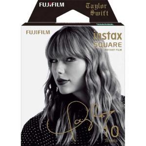 フジフイルム インスタントカラーフィルム instax SQUARE Taylor Swift 10枚入 emedama