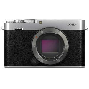 フジフイルム X-E4 ボディ シルバー 《納期約3ヶ月》 カメラのキタムラ PayPayモール店