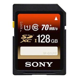 ソニー SF-128UY2 SDXCメモリーカード Class10 (UHS-I) 128GB〔国内正規品〕|emedama