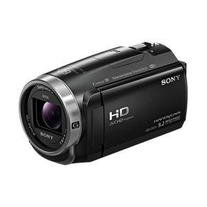 【あすつく】 ソニー デジタルHDビデオカメラレコーダー HDR-CX675 BC ブラック