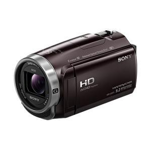 【あすつく】 ソニー デジタルHDビデオカメラレコーダー HDR-CX675 TC ボルドーブラウン