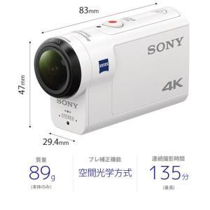 ソニー デジタル4Kビデオカメラレコーダー FDR-X3000 ボディ emedama 02
