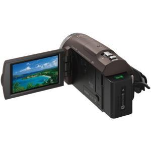ソニー デジタルHDビデオカメラレコーダー HDR-CX680 TI ブロンズブラウン|emedama|03