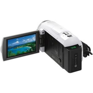ソニー デジタルHDビデオカメラレコーダー HDR-CX680 W ホワイト|emedama|03