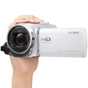 ソニー デジタルHDビデオカメラレコーダー HDR-CX680 W ホワイト|emedama|04