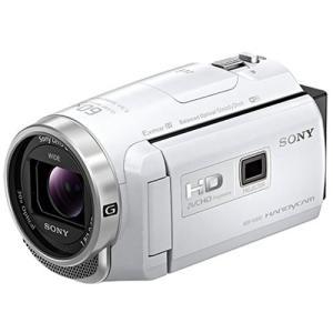 ソニー デジタルHDビデオカメラレコーダー HDR-PJ680 W ホワイト 《納期約3−4週間》|emedama