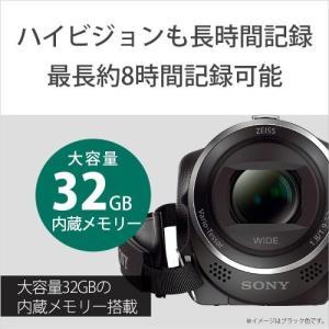 ソニー デジタルHDビデオカメラレコーダー H...の詳細画像2