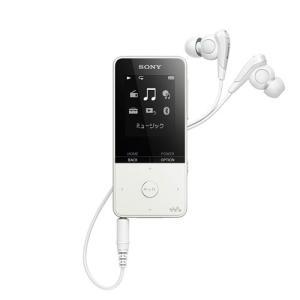 【あすつく】 ソニー ウォークマン Sシリーズ NW-S315 W ホワイト [16GB] emedama