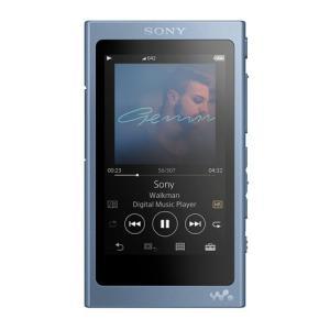 【あすつく】 ソニー ウォークマン NW-A45 LM ムーンリットブルー [16GB]|emedama