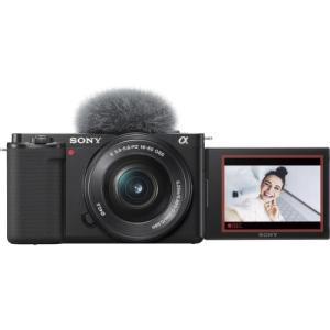 ソニー VLOGCAM ZV-E10 パワーズームレンズキット ブラック 《納期約3−4週間》|カメラのキタムラ PayPayモール店