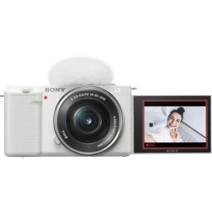 ソニー VLOGCAM ZV-E10 パワーズームレンズキット ホワイト 《納期約3−4週間》|カメラのキタムラ PayPayモール店
