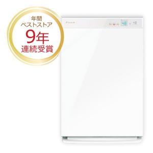 ダイキン 加湿ストリーマ 空気清浄機 MCK70U-W ホワイト|emedama