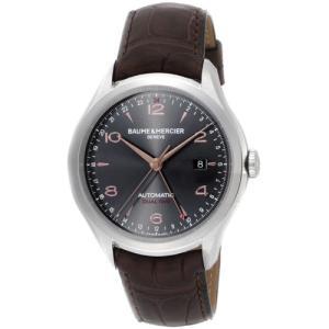 ボーム&メルシエ メンズ腕時計 クリフトンデュアルタイム MOA10111