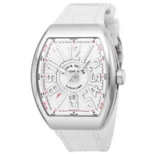 【60回無金利】 フランクミュラー メンズ腕時計 ヴァンガード  V45SCDTWHTWHT|emedama