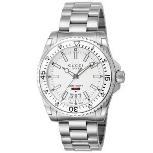 グッチ メンズ腕時計 DIVE  YA136302 emedama