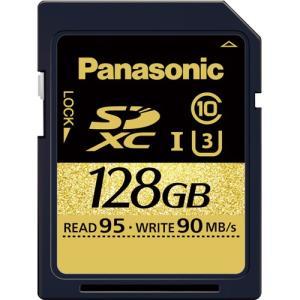 パナソニック RP-SDUC128JK SDXC UHS-I メモリーカード 128GB〔国内正規品〕 《納期約2週間》|emedama