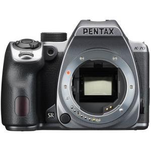 [送料無料][`pentaxペンタックスK-70ボディキットシルキーシルバー`pentaxk-70`...