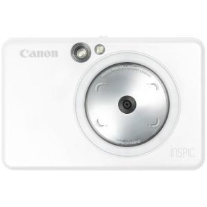キヤノン インスタントカメラプリンター ZV-123-PW