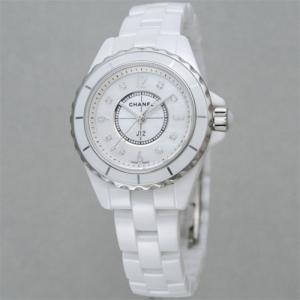 【60回無金利】 シャネル レディース腕時計 J12 8Pダイヤ  H2570|emedama