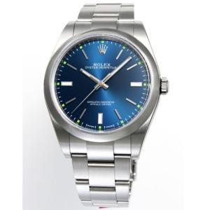 【36回無金利】 ロレックス メンズ腕時計 オイスターパーペチュアル  114300BL emedama