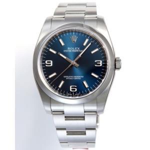 【36回無金利】 ロレックス メンズ腕時計 オイスターパーペチュアル  116000BL emedama
