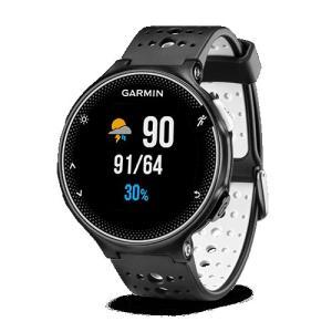 ガーミン 腕時計 ForeAthlete 230J 010-03717-87 ブラック ホワイト の商品画像|ナビ