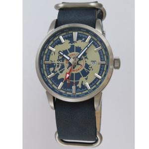 ハンティングワールド メンズ腕時計 スーブニール HW027BL|emedama