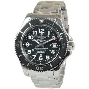 ブライトリング メンズ腕時計 スーパーオーシャンII  A182B67PSS|emedama