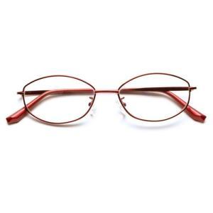 [あすつく][送料無料][小松貿易PG-703-REPINTGLASSESレッド`老眼鏡`ピントグラ...