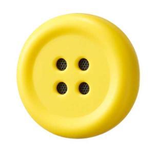 博報堂 ボタン型おしゃべりスピーカー Pechat イエロー