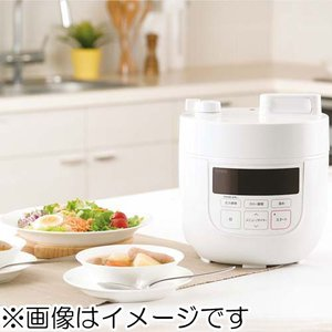 シロカ siroca 電気圧力鍋 SP-D131-W ホワイト 《納期約3週間》|emedama|02
