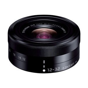 パナソニック LUMIX G VARIO 12-32mm F3.5-5.6 ASPH. MEGA O.I.S. [H-FS12032] ブラック