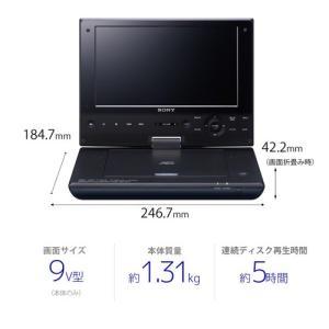 ソニー ポータブルブルーレイディスク/DVDプレーヤー BDP-SX910 emedama 04