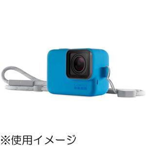 GoPro ACSST-003 GoPro スリーブ + ランヤード ブルー|emedama