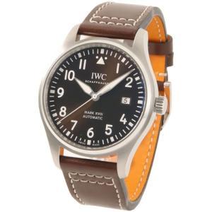 【60回無金利】 IWC メンズ腕時計 パイロットウォッチ マーク18 アントワーヌ・ド・サンテグジュペリ IW327003|emedama