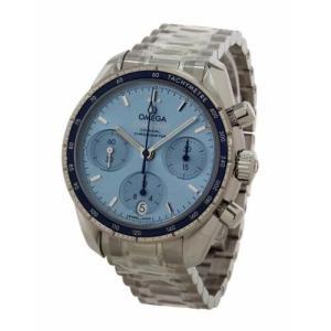 オメガ メンズ腕時計 スピードマスタークロノグラフ 324.30.38.50.03.001|emedama