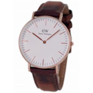 ダニエルウェリントン ユニセックス腕時計 クラシックダラム DW00100111