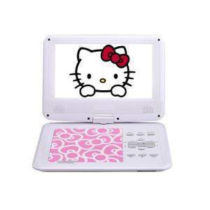 AVOX 9インチ ポータブルDVDプレーヤー ハローキティモデル HELLO KITTY ADP-9030MKTY-P ピンク|emedama