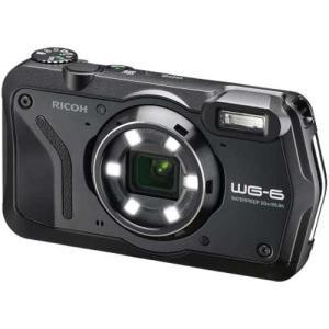 [あすつく][送料無料][ricoh`リコーWG-6ブラック`ricohWG-6`リコー防水カメラ`...