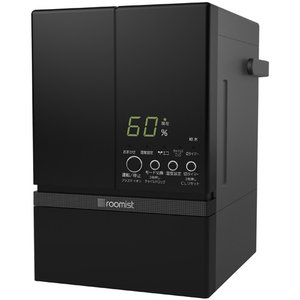 三菱重工 スチームファン蒸発式 加湿器 roomist[ルーミスト] SHE60RD-K ブラック|emedama