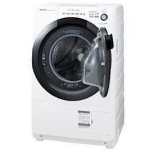 シャープ プラズマクラスター ドラム式洗濯機 ES-S7D-WR ホワイト系 [右開き] [7kg/3.5kg]の画像