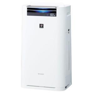 シャープ プラズマクラスター 加湿空気清浄機 KI-GS70-W ホワイト系|emedama