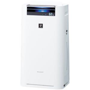 シャープ プラズマクラスター 加湿空気清浄機 KI-GS50-W ホワイト系|emedama