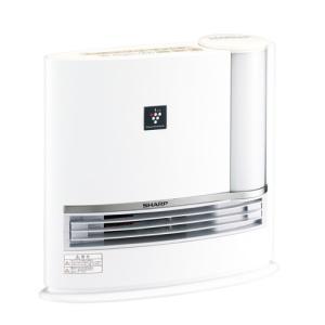 シャープ プラズマクラスター 加湿セラミックファンヒーター HX-H120-W ホワイト系/アイボリーホワイト|emedama